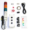 Andon Light Tower Kit Red-Yellow-Green