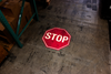 S300 Projected stop sign