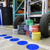 dot tape packages and floors