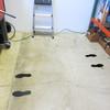 SafetyTac Footprints on floor