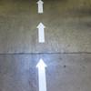 SafetyTac Arrows other way on floor