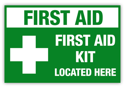 First Aid Kit Label