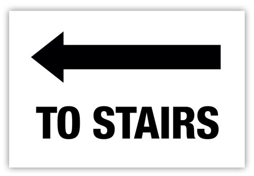Stairs (Left) Label