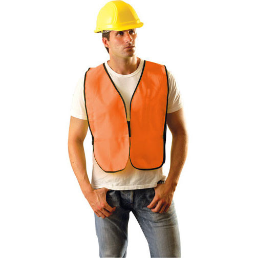 Economy Non-ANSI Vests- Orange