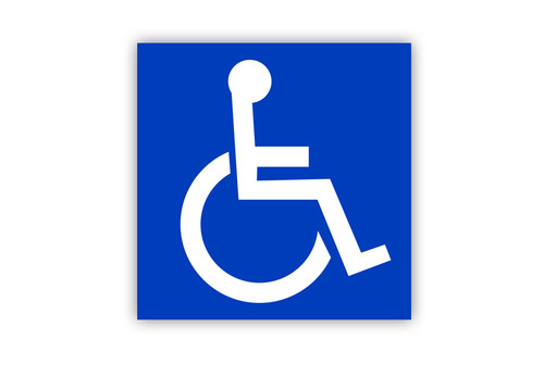 Handicap Label