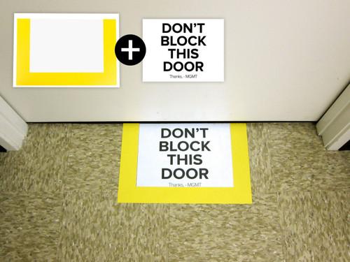 Industrial Clear Floor Frame - Edge