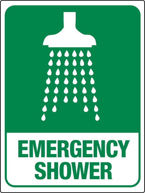 Emergency Show Wall Sign