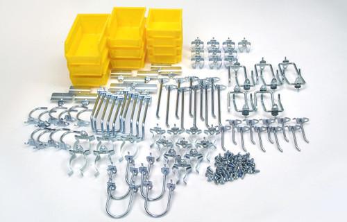 DuraHook Kit - 85 Hooks/10 Bins