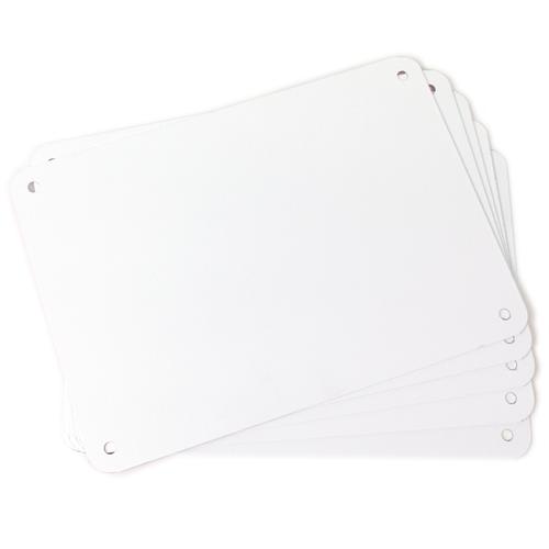 """5 pack 7""""x10"""" Aluminum Sign Blanks LT-710AL"""