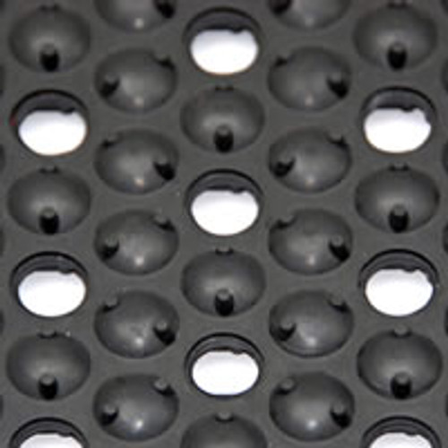 Drain Thru Barefoot Nitrile - Oil Resistant Ergonomical Mat