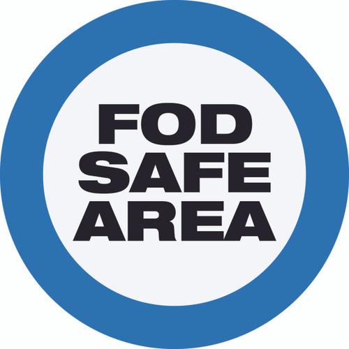 FOD Safe Area Type A (Floor Sign)