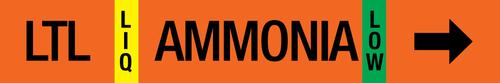 Ammonia Label - Low Temperature Liquid