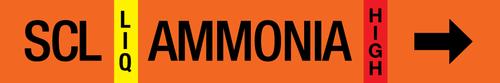 Ammonia Label - Sub Cooled Liquid