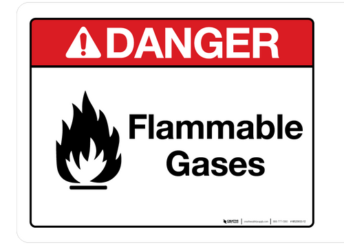 Danger - Flammable Gases