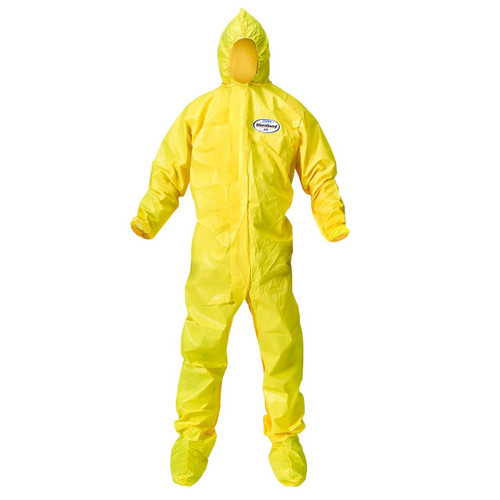 Kleenguard A70 Coveralls with attached hood and boots