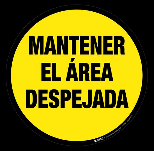 Keep Area Clear