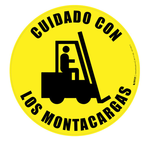 Cuidado Con Los Montacargas