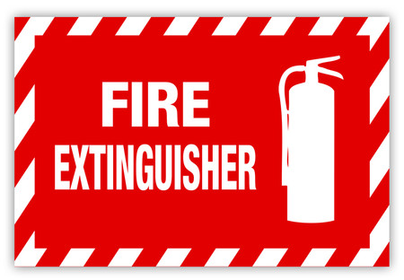 Fire Extinguisher Label   Creative Safety Supply