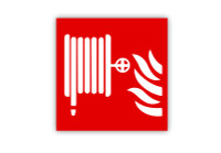 Fire Hose Symbol Label