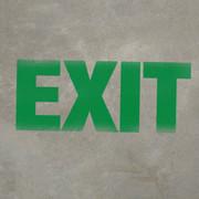 EXIT 18x24 - Stencil