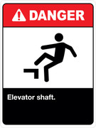 Danger Elevator Shaft