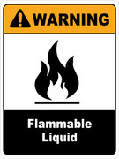 Warning Flammable Liquids