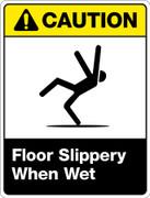 Caution Slippery When Wet