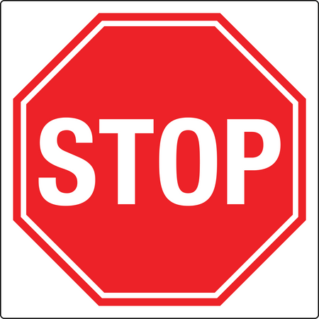 Wall Mounted Stop Sign