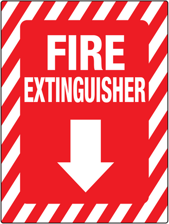 Fire Extinguisher Below