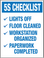 5S Checklist Wall Label