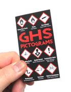 GHS Pictograms & Labeling Pocket Guide Front