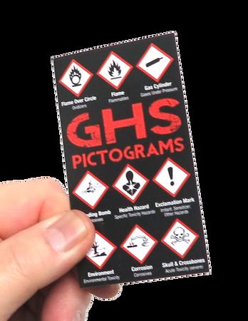 GHS Pictograms & Labeling Pocket Guide Front