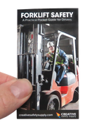 Forklift Safety Pocket Guide Front