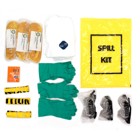 PPE Spill Kit Contents