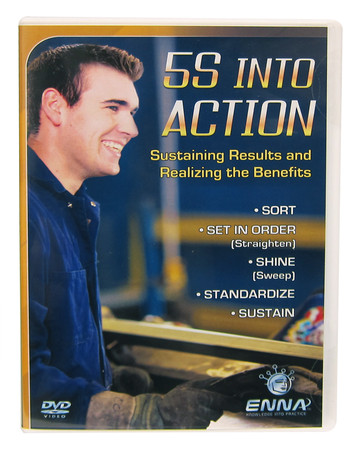 5S Into Action DVD: Front