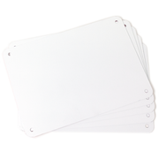 "5 pack 7""x10"" Aluminum Sign Blanks LT-710AL"