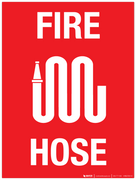 Fire Hose - Wall Sign
