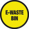 E-Waste Bin Floor Sign