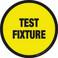 Test Fixture Floor Sign