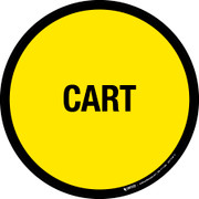 Cart Floor Sign
