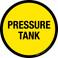Pressure Tank Floor Sign