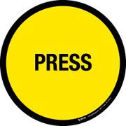 Press Floor Sign