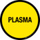 Plasma Floor Sign
