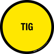 TIG Floor Sign
