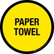 Paper Towel Floor Sign