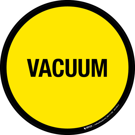 Vacuum Floor Sign