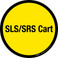 SLS/SRS Cart Floor Sign