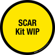 SCAR Kit WIP Floor Sign