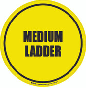 Medium Ladder Floor Sign