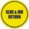 Glue & Ink Return Floor Sign